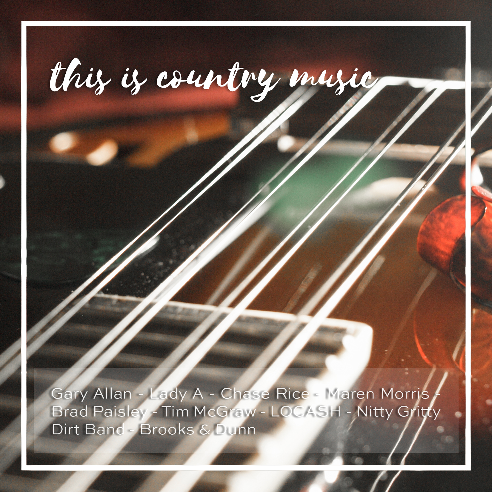 Weekly Playlist 13 - this is country music