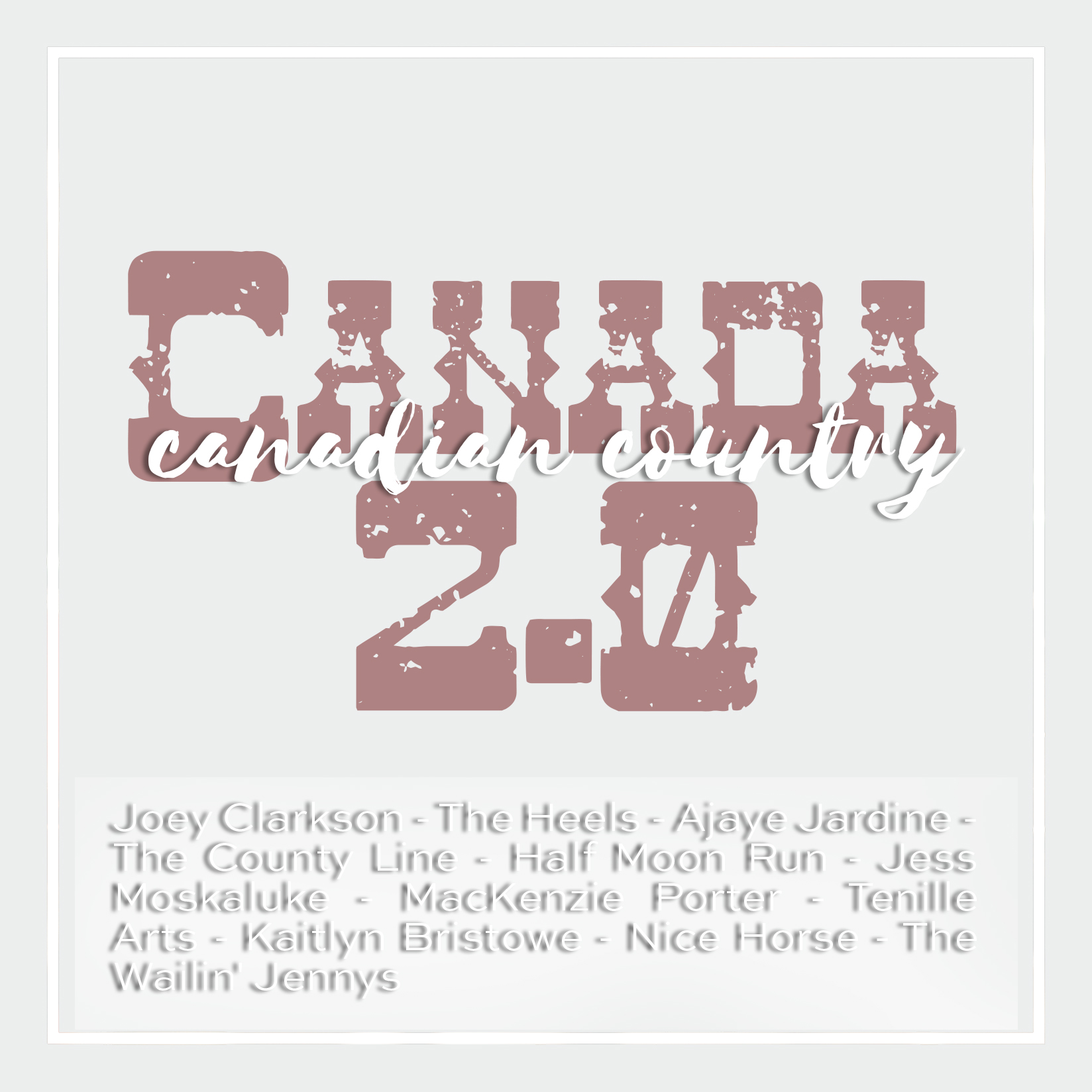 Weekly Playlist #24: Canadian Country 2.0