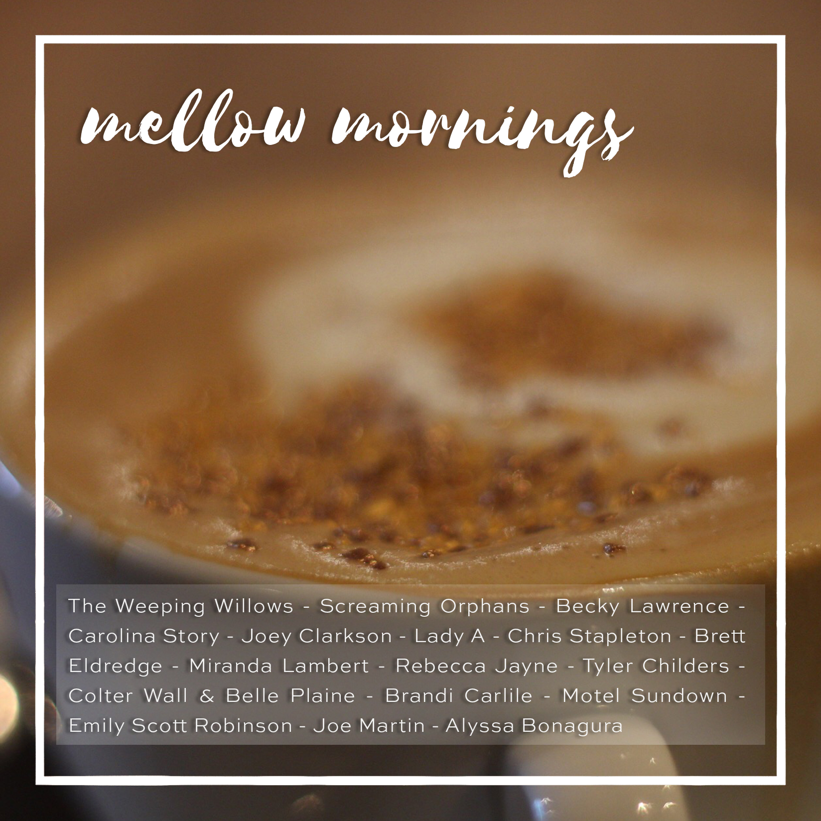 weekly playlist #29: mellow mornings
