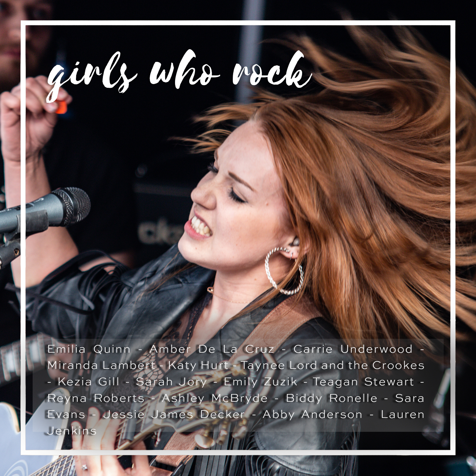 Weekly Playlist #33: girls who rock